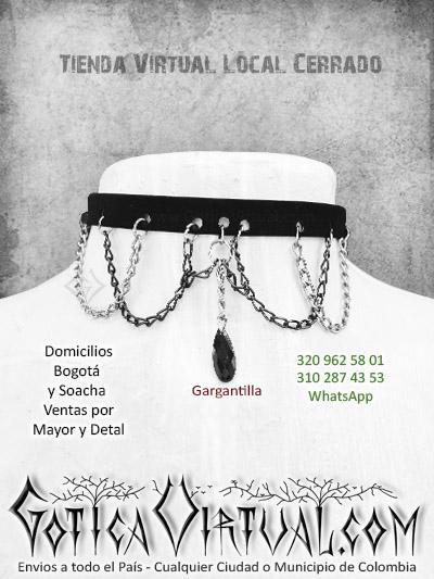 f522a85403ff gargantillas cadenas dije femenina tienda online rock meal accesorios bogota  colombia