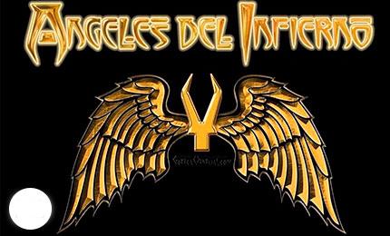 afiche angeles del infierno bandas economico bonito rockero metalero poster venta online envios bogota manizales armenia tunja colombia