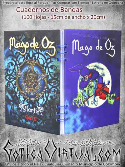 agenda cuaderno mago de oz utiles escolares cali medellin cucuta santader colombia ventas por mayor