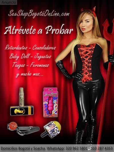sex shop bogota online tienda erotica retardantes estimulantes feromonas lubricantes baby doll disfraces bogota colombia