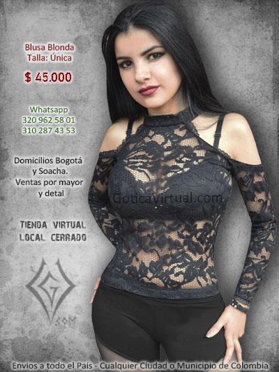 blonda ropa bogota tienda online blusa rock envios soacha bogota cundinamarca colombia restrepo metal moda