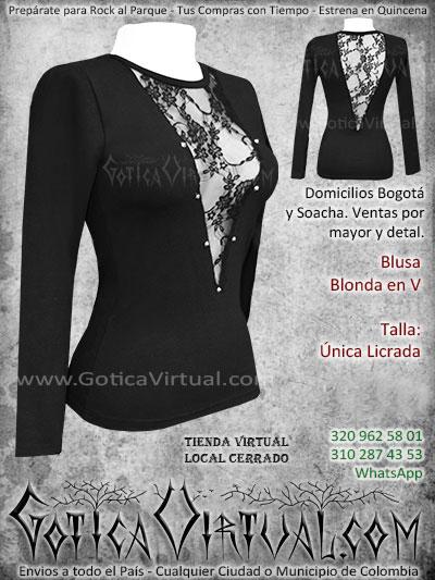 blusa algodon blonda economica bonita venta online envios bogota santander neiva cucuta armenia medellin quindio colombia