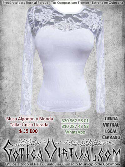 blusa blanca mujer femenina barata economica bogota ventas online bodega envios todo el pais manizales ibague bucaramanga medellin cucuta colombia