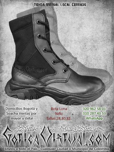 bota militar nino economicas lona venta online envios boota manizales armenia sincdelejo cali valle colombia