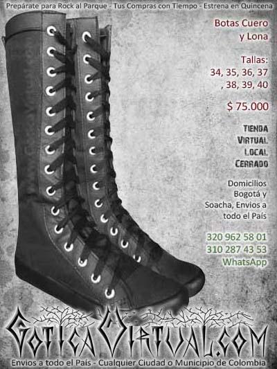 2b75b9834 botas goticas mujer bogota