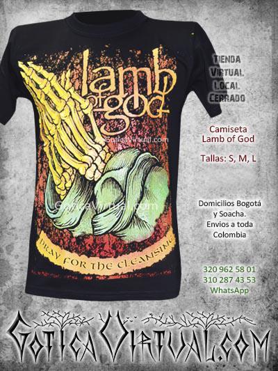 camiseta lamb of god bogota online domicilios venta hombre caballero masculino domicilios soacha venecia rock restrepo clan sur norte store barata rock al parque 2017