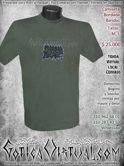 camiseta morbid angel hombre bordada negra venta online domicilios bogota envios colombia