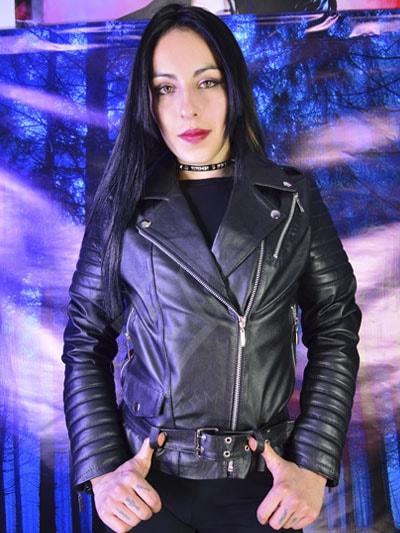 chamarra cuero femenina ropa femenina tienda online rock metal economica negra bogota yopal caldas armenia valledupar monteria sincelejo colombia