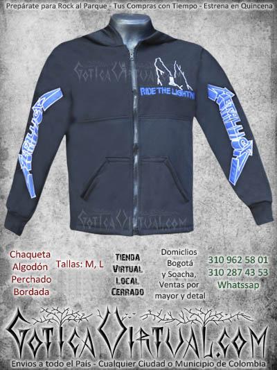 chaqueta metallica masculina venta online envios bogota manizales cucuta zipaquira sincelejo valledupar colombia