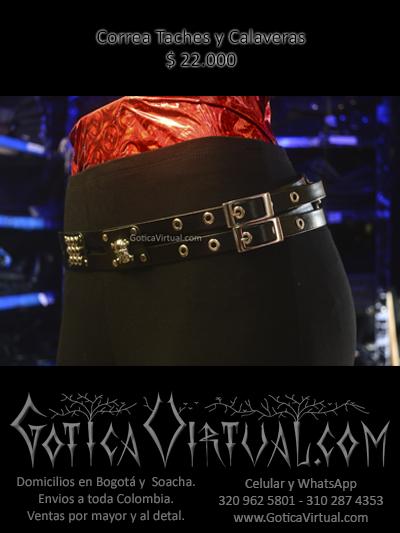 correas taches calaveras tienda online rock metal bogota cauca chia medellin armenia colombia