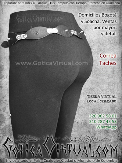correa taches cuero economica venta online envios bogota caliarmenia quindio poptayan colombia