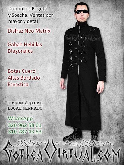 disfraz matrix neo economico venta online envios bogota manizales quindio valle cucuta pereira villavicencio colombia