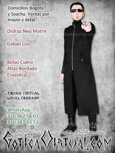 disfraz matrix neo masculino gaban botas economico venta online envios manizales villavicencio pereira tunja cucuta neiva colombia
