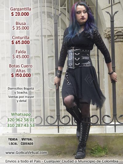 faldas goticas largas punts bogota puntadas valledupar soacha chia funza mosquera ipiales roma panama mayorista compras ventas exportaciones