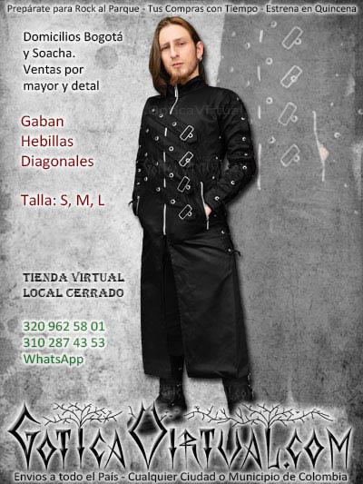 Drill Hebillas Abrigos Virtual Gotica Gabanes Bogota Cremalleras FHxqww