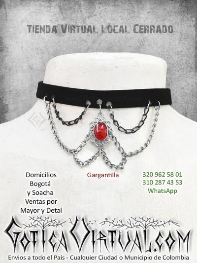 gargantilla cadenas dije accesorios tienda online rock metal bogota chia santander tunja mosquera colombia
