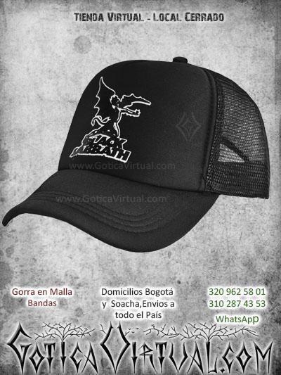 gorra black sabbath bandas economica malla negra venta online envios bogota cali valle meta villavicencio cauca pereira colombia