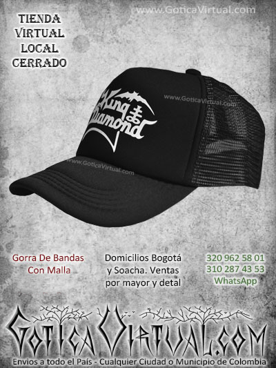 gorra king diamond bandas economica malla negra venta online envios bogota cali valle meta villavicencio cauca pereira colombia