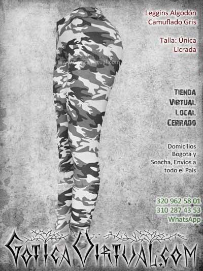 leggins camuflado gris chicle bogota mujer femenino economico barato envios todo el pais ventas online medellin cali manizales cucuta narino rioacha colombia