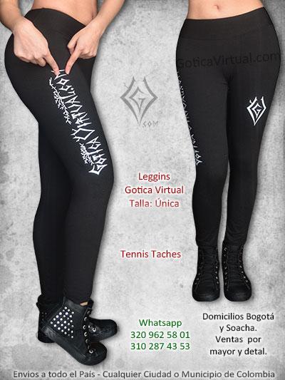 leggins algodon gotica virtual estampado marca bonito economico venta online orck metal bogota caldas chica manizales tunja yopal colombia
