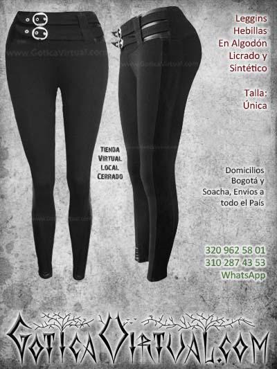 leggins hebillas licrado sintetico negro bogota economico barato mujer femenino envios todo el pais ventas online cucuta medellin armenia sucre manizales cordoba colombia