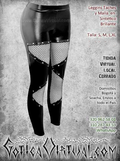 leggins taches malla sintetico cuerina pvc bogota mujer femenino barato economico ventas online envios todo el pais cali medellin cucuta narino neiva popayan colombia