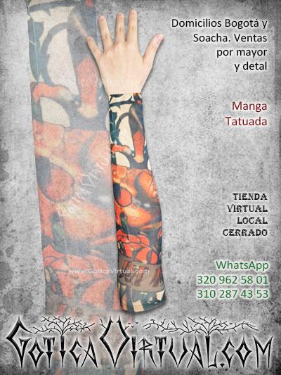 manga tatuada brazo tatto economica venta online envios bogota medellin tunja neiva cali colombia
