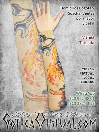 manga tatuada economica brazo tatto envios bogota armenia medellin pasto quindio cucuta cali villavicencio colombia