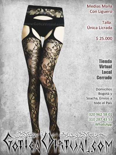 medias liguero malla sexy bogota economicas negras ventas online envios a todo el pais cali medellin cauca narino cartagena barranquilla colombia