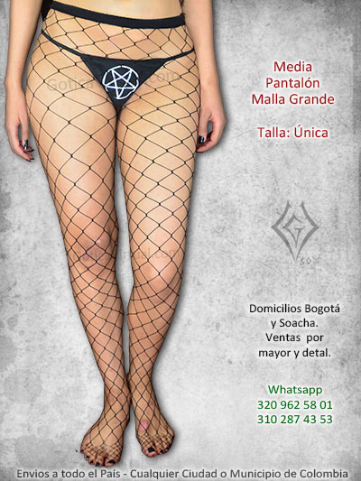 media pantalon malla huecos grandes bonita economica excelente calidad venta online domicilios envios cali chile manizales bolivar colombia