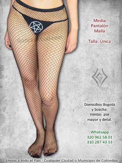 medias pantalon negra malla huecos bonita economica sencilla tienda online venta cali amrenia valle huila quindio boita cota