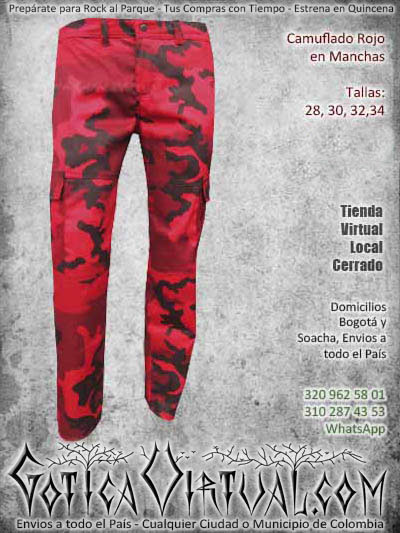 pantalon camuflado rojo manchas hombre masculino economico ropa bodega ventas online envios a todo el pais medellin cauca narino manizales pereira colombia