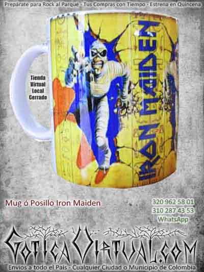 posillos ironmaiden bogot rockero metalero ventas online envios a todo el pais risaralda rioacha mocoa narino pereira mitu villavicencio cordoba colombia
