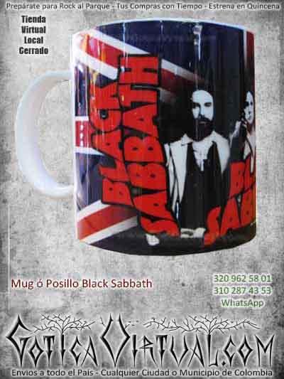 posillos mug bandas ventas online black sabbath ozzy ozbourne envios a todo el pais cali medellin cauca narino pastp tunja villavicencio colombia