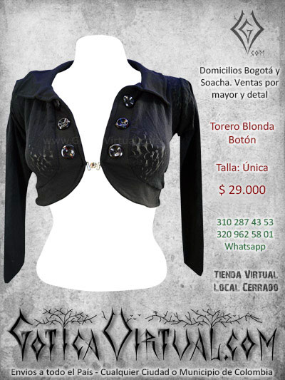 torero blonda economico sexy bonito encaje femenino venta online rock metal bogota cali santander chia yopal monteria colombia