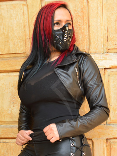 torero cuerina cuero ropa dark clothes sexy femenina dama mujer rockera metalera envios colombia manizales medellin villavicencio tunja